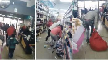 Por que a crise argentina, onde há saques a supermercados, não é notícia no Brasil?
