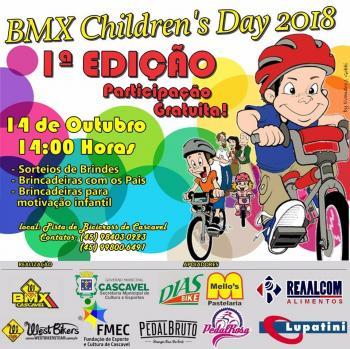 Escola de BMX realiza o BMX Childen Day no dia 14 de outubro