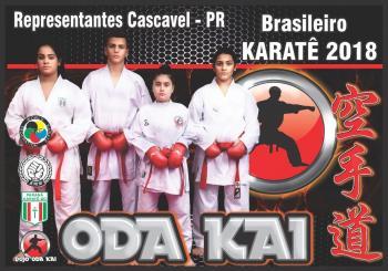 Campeonato Brasileiro de Karatê terá quatro cascavelenses na disputa