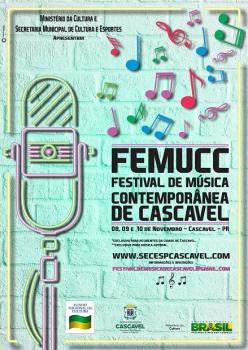 Vem aí o FEMUCC! Festival de Música Contemporânea de Cascavel