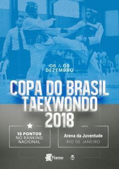 Copa do Brasil de Taekwondo terá quatro cascavelenses na disputa