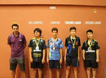 Cascavel é destaque em Campeonato de Tênis de Mesa