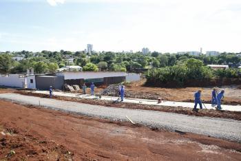 Obras do Ecopark Santa Cruz seguem em ritmo acelerado