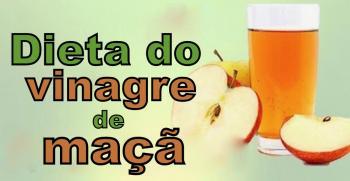 A DIETA DO VINAGRE DE MAÇÃ PERCA PESO RAPIDAMENTE COM ESTE VINAGRE