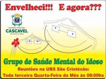 UBS São Cristóvão reinicia os trabalhos do grupo de saúde mental da terceira idade